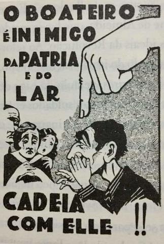 Uma campanha foi feita contra o boato, mesmo o Governo Federal usando informações falsas contra o opositor (Ilustra reproduzida do livro 1932 – São Paulo em chamas) - Gente de Opinião