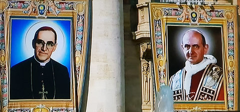 PAULO VI E OSCAR ROMERO PROCLAMADOS SANTOS - Frei Betto