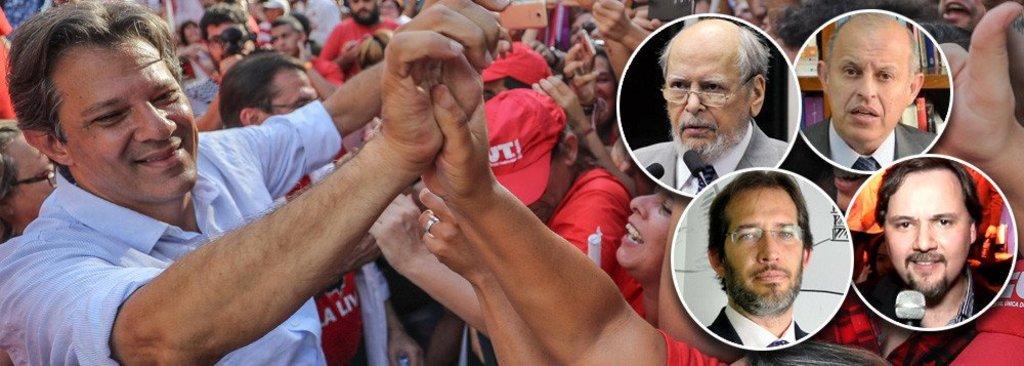 Juristas lançam manifesto em defesa de Haddad  - Gente de Opinião