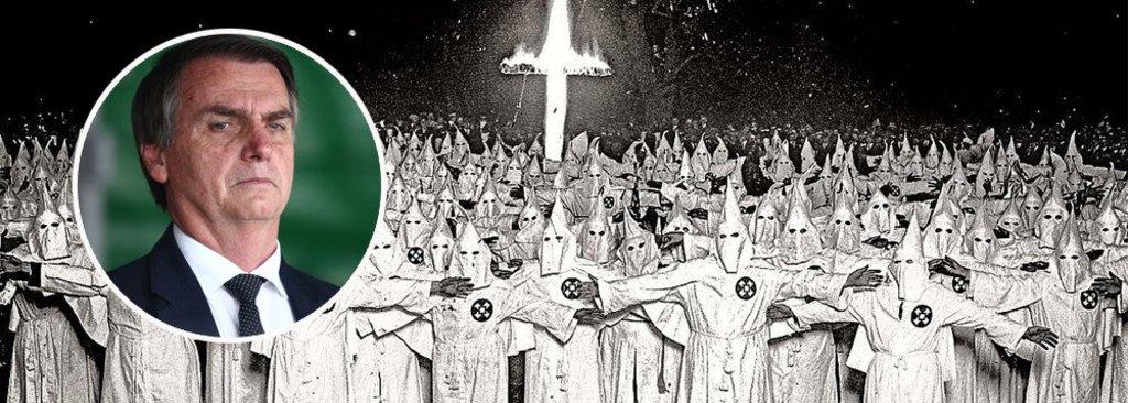 Bolsonaro não aceita que a KKKlan o apoie não muda o fato de que ela o apóia - Gente de Opinião