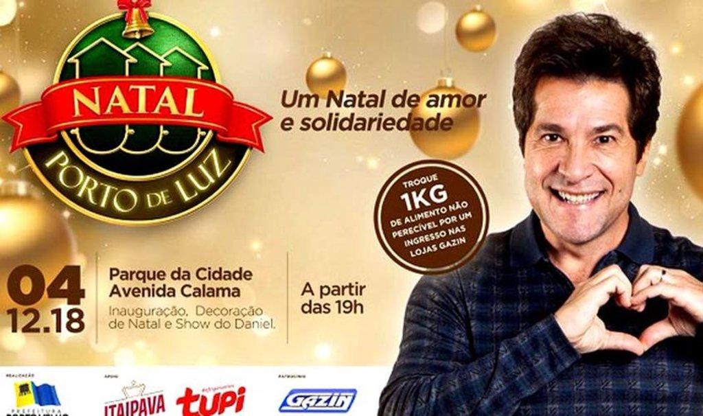 Ingressos para o show do cantor Daniel já podem ser trocados nas lojas Gazin - Gente de Opinião
