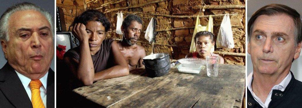 A vergonha brasileira: um pé no Mapa da Fome e 52 milhões de pobres - Gente de Opinião