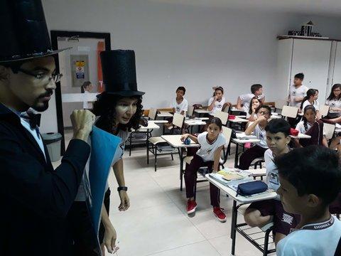 IFRO Campus Cacoal trabalha mágica e matemática em escolas de Cacoal