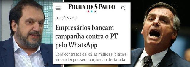 Diretor do Datafolha: salto de Bolsonaro nas pesquisas indica fraude