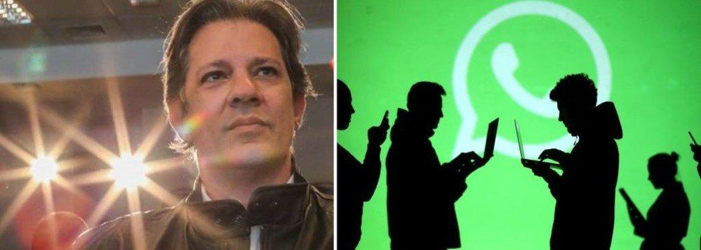 Empresas bancam campanha ilegal contra Fernando Haddad pelo WhatsApp - Gente de Opinião