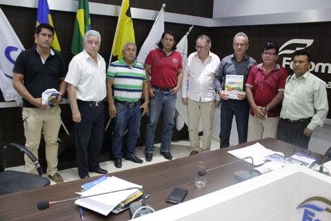 COMITIVA DE EMPRESÁRIOS BOLIVIANOS VISITAM A FECOMÉRCIO-RO e BUSCAM NEGÓCIOS E INTEGRAÇÃO COM RONDÔNIA