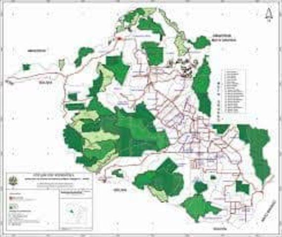 Mapa do Zoneamento prevendo as áreas de conservação permanente (Fonte Sedam-RO) - Gente de Opinião