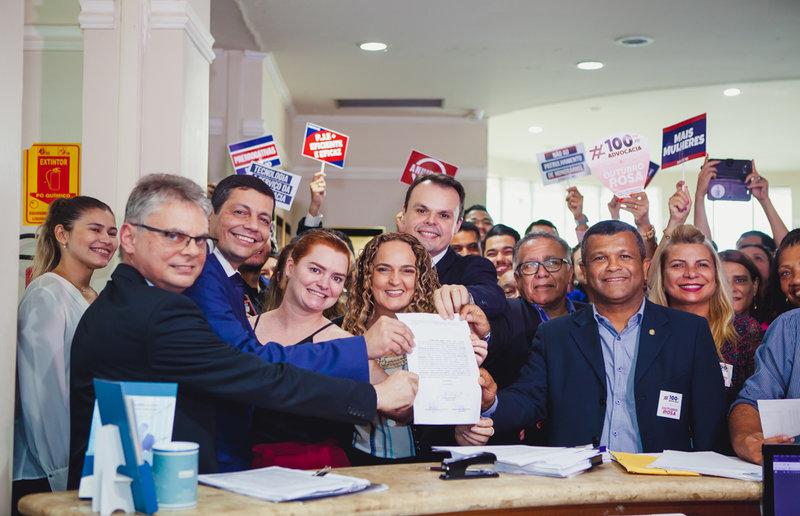 "Elton Assis lança chapa ""#100%"" advocacia e lota OAB"