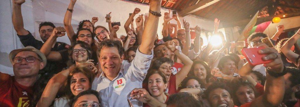 Haddad: vamos virar a eleição e derrotar um trambiqueiro  - Gente de Opinião