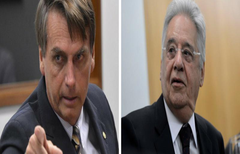 FHC desperta e agora vê fascismo na família Bolsonaro