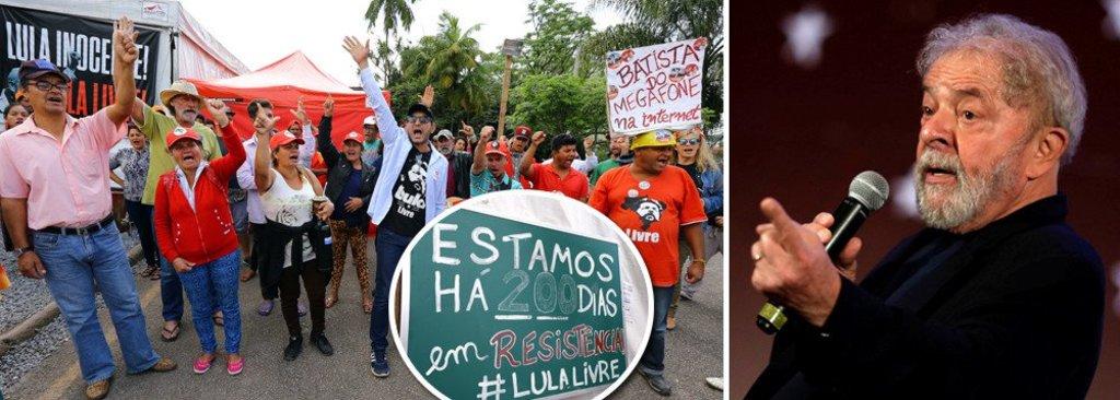Prisão política de Lula completa 200 dias  - Gente de Opinião