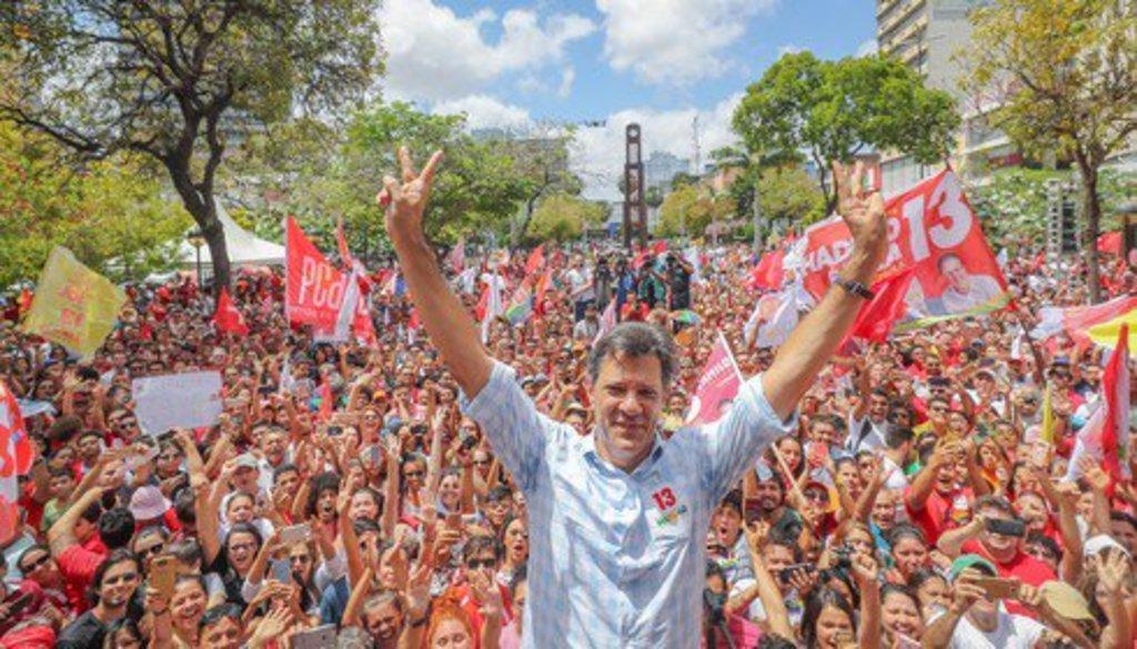 Ibope: Haddad cresce, Bolsonaro cai  - Gente de Opinião