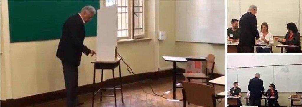 Vídeo mostra que FHC votou em Haddad - Gente de Opinião