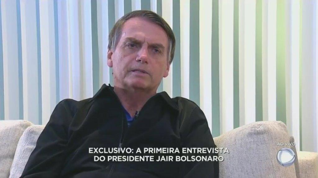 Bolsonaro ignora Globo e dá primeira entrevista para a Record - Gente de Opinião
