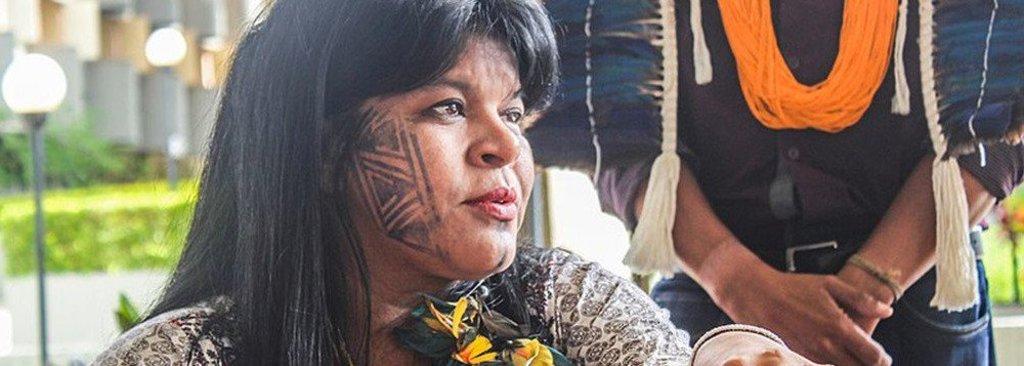 """Sônia Guajajara alerta para """"tragédia socioambiental"""" com Bolsonaro - Gente de Opinião"""