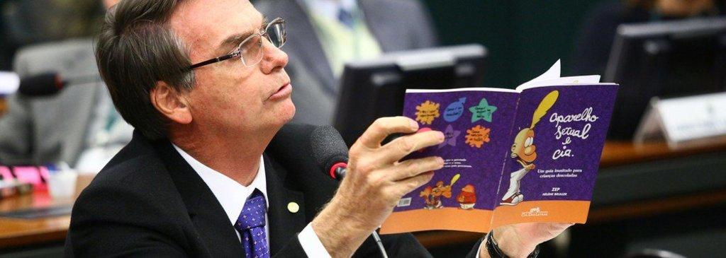 84% dos eleitores de Bolsonaro acreditam no kit gay, diz pesquisa - Gente de Opinião