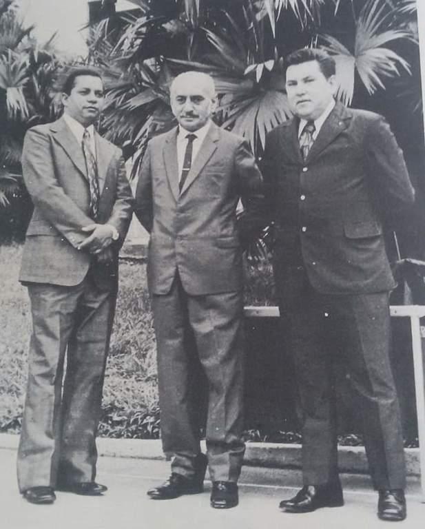 """""""DO FUNDO DO BAÚ"""" - Diretoria da CAERD, em 1972 - Por Anísio Gorayeb  - Gente de Opinião"""