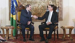 Reunião entre o ministro Dias Toffoli e Jair Bolsonaro aponta segurança pública como um dos principais desafios para o país - Gente de Opinião