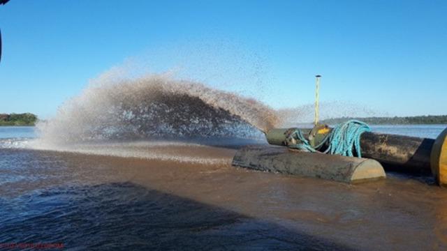 Mais de 940 mil m³ foram dragados do rio Madeira em 2018 - Gente de Opinião