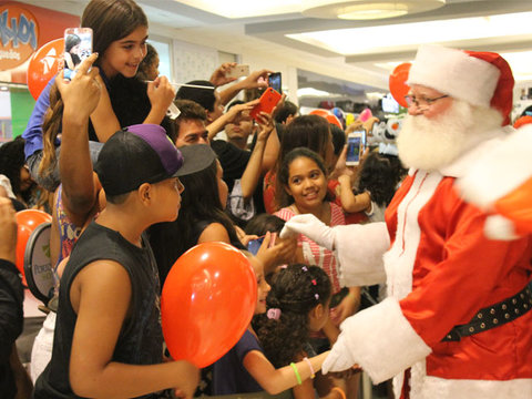 Chegada do Papai Noel do Porto Velho Shopping é neste domingo