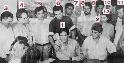 Lançamento da candidatura de Chiquilito ao governo - 1994