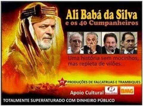 De  Bolsanaro a Hitler: Para Ali Babá da Silva e os 40 companheiros