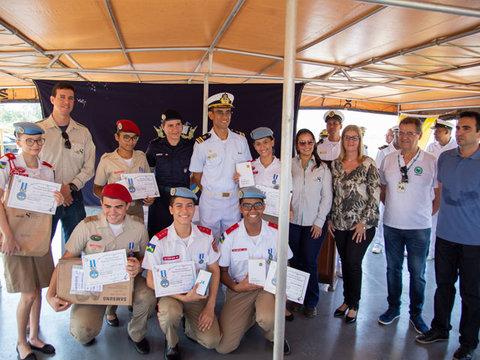 Energia Sustentável do Brasil patrocina concurso de redação da Marinha em Porto Velho