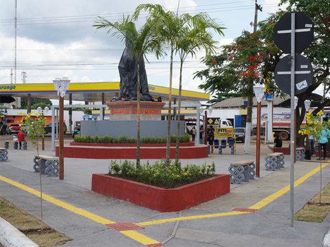 Praça dos Seringueiros: Prefeitura homenageia pioneiros da exploração do látex