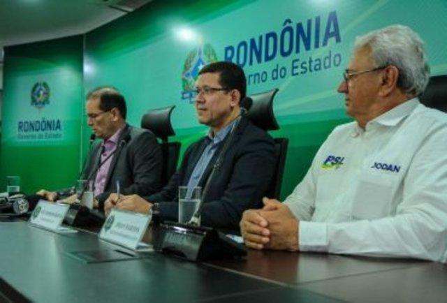 Daniel Pereira, Marcos Rocha e José Jodan (Foto Daiane Mendonça/Secom) - Gente de Opinião