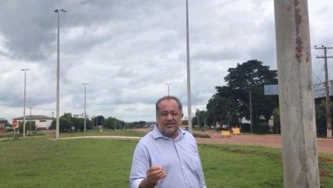Pimenta Bueno: Emenda de Luiz Claudio garante iluminação de elevado na BR 364