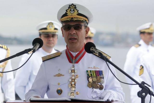 O almirante Bento Costa Lima Leite de Albuquerque Júnior é o sexto nome de militar a compor o ministério de Jair Bolsonaro - Ministério da Defesa/Divulgação - Gente de Opinião