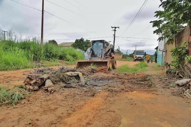 Mutirão da Limpeza - Mais de 60 caçambas de entulho são recolhidas em Jaci-Paraná - Gente de Opinião
