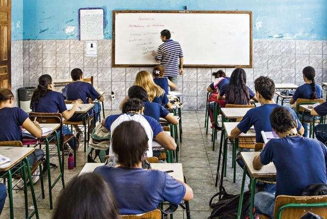 Escola em Porto Velho: Rondônia teve a maior ascensão entre as 27 unidades da federação   Delfim Martins/Pulsar Imagens - Gente de Opinião