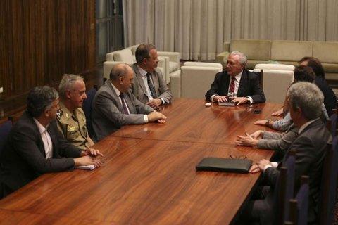 Presidente Temer anuncia intervenção federal em Roraima até o fim do ano