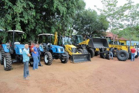Porto Velho - Prefeitura recebe 20 máquinas que serão usadas pelas Semisb, Sema e Semagric
