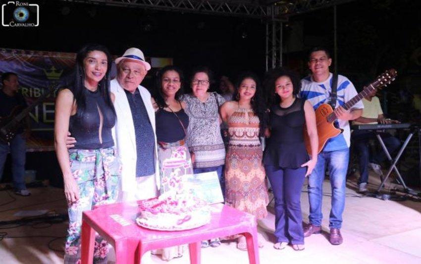SUCESSO: Festa completa em homenagem ao Menestrel  Sílvio Santos, sábado