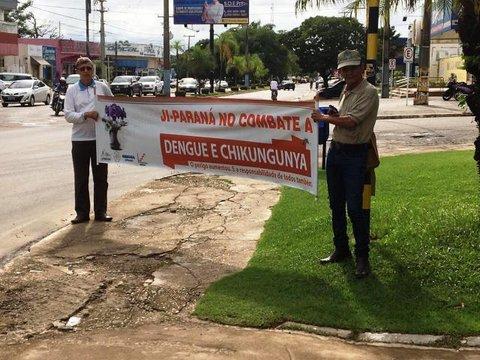 Prefeitura de Ji-Paraná incentiva limpeza nos quintais contra a dengue