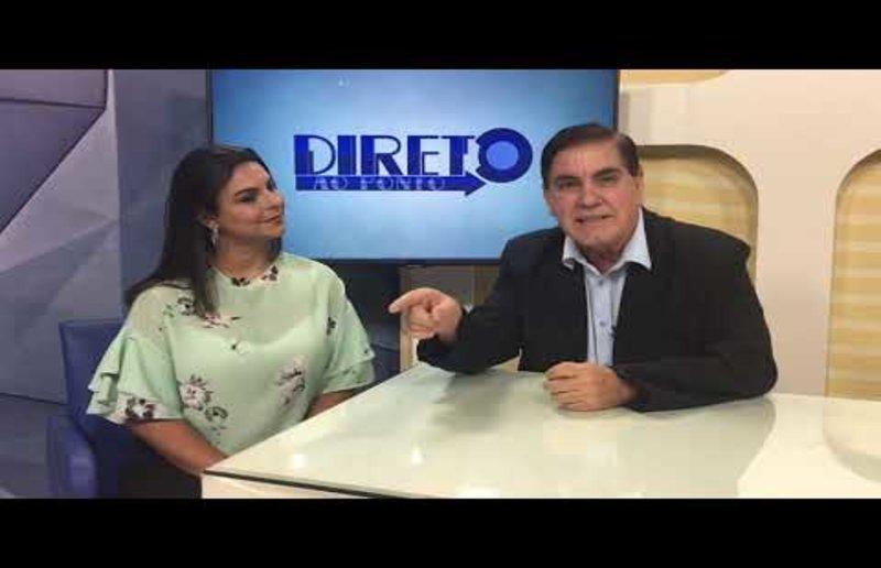Não perca a entrevista exclusiva com Mariana Carvalho, no Direto ao Ponto deste sábado. Na Record News Rondônia e no site Gente de Opinião!