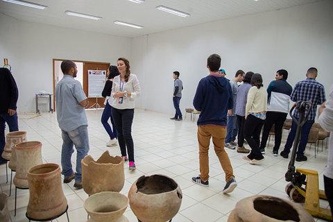 ESTUDANTES DE ENGENHARIA ELÉTRICA DA UNIR CONHECEM NA PRÁTICA TODO O PROCESSO DE GERAÇÃO DE ENERGIA DA UHE JIRAU