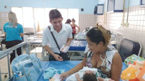 SELO UNICEF: Semasf, Semusa e Governo do Estado realizam 'Semana do Bebê Itinerante'