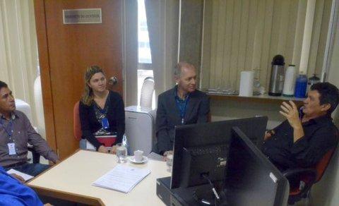 Ouvidoria/TCE-RO recebe visita técnica do ouvidor-geral do Estado