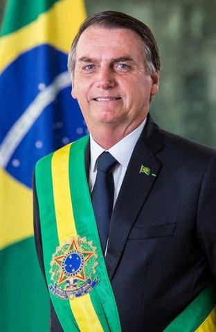 Planalto divulga foto oficial do presidente Jair Bolsonaro. Foto: Alan Santos/PR - Gente de Opinião