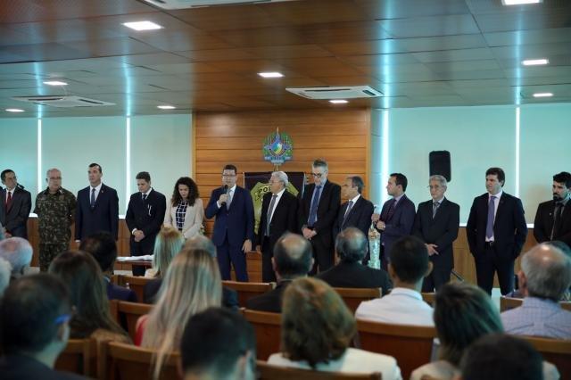 Segurança: TCE e MPC prestigiam posse do novo delegado geral da Polícia Civil - Gente de Opinião
