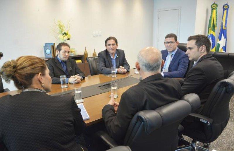 Fecomércio-RO é recebida em audiência pelo governador Marcos Rocha