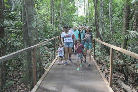 Porto Velho: Prefeitura oferece trilha para pais e filhos no Parque Natural