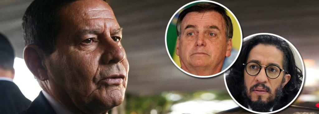 VICE-PRESIDENTE MOURÃO CONFRONTA BOLSONARO E DIZ QUE AMEAÇA A PARLAMENTAR É CRIME CONTRA DEMOCRACIA - Gente de Opinião
