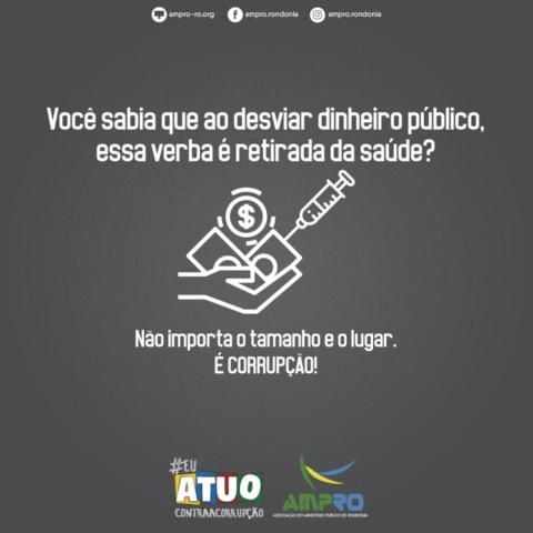 """Ampro lança campanha """"Eu Atuo Contra a Corrupção"""" com VT e material para site e redes sociais - Gente de Opinião"""