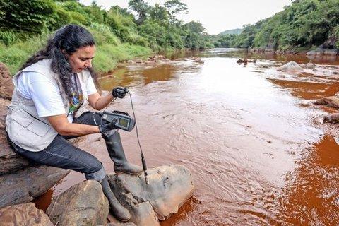Brumadinho: Qualidade da água do rio Paraopeba é considerada ruim. Veja as imagens