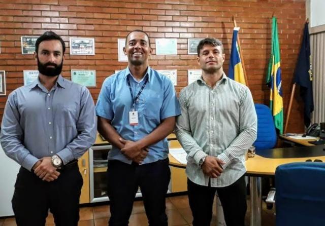 Deputado Cabo Jhony Paixão é recebido pelo Superintendente da PRF em Rondônia - Gente de Opinião