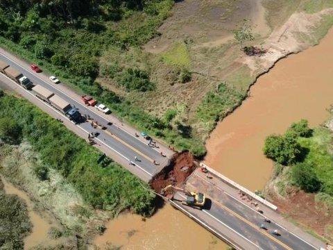 Fiero alerta para risco de colapso do tráfego na BR-364